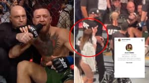Dustin Poirier's Wife Flipped Off Conor McGregor After Instagram DM's Comment During Post-Fight Interview