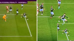 Aston Villa's Twitter Immediately Reacts To VAR Ruling Out Penalty Call Against Southampton