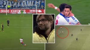 Seven Years Ago Today, Hakan Calhanoglu Defied Gravity With A 45-Yard Free-Kick