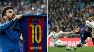 The Images Lionel Messi Produces At The Santiago Bernabeu Should Be In A Museum
