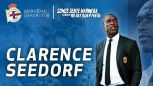 Clarence Seedorf Announced As Deportivo La Coruna Manager