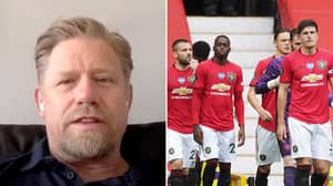 "Peter Schmeichel Says ""Shocking"" Man Utd Player Doesn't Belong At The Club In Passionate Rant"