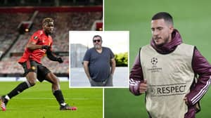 Mino Raiola Discusses Possibility Of Paul Pogba And Eden Hazard Swap