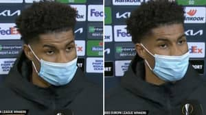 Marcus Rashford Gave A Passionate And Honest Interview After Manchester United's Europa League Final Loss