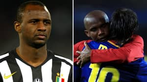 Samuel Eto'o Recalls His Message To Patrick Vieira Before He Played Against Lionel Messi In 2005