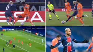 Neymar Scores Sensational Hat-Trick In PSG's Thumping Champions League Win Over Istanbul Basaksehir