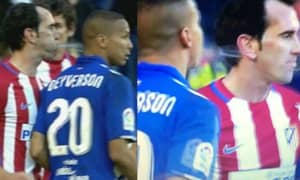 WATCH: Diego Godin And Deyverson Get Involved In Disgusting Spit-Off