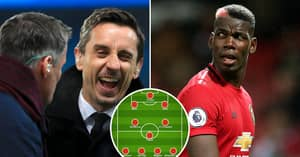 Gary Neville And Jamie Carragher Argue Over Combined Liverpool-Man United XI