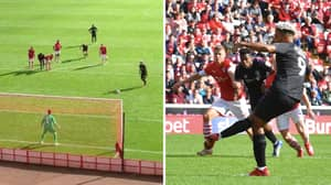 Charlton Striker Lyle Taylor Has Got The Most Relaxed Approach To Penalties In Football