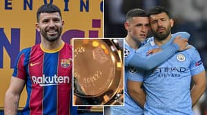 Sergio Aguero's Leaving Gifts For Manchester City Staff Included Personalised Watches With Special Message
