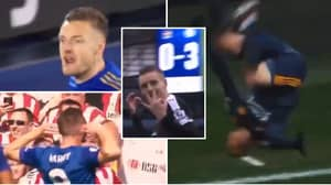 Incredible Jamie Vardy 'Gangster's Paradise' Compilation Shows He Is The Ultimate Sh*thouse