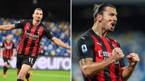 Zlatan Ibrahimovic Among Serie A Stars To Wear Red Face Paint To Raise Awareness For Domestic Violence Against Women