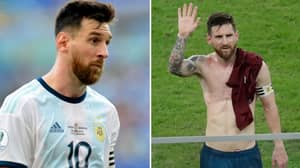 Lionel Messi Blames The Pitches For His Terrible Copa America Performances