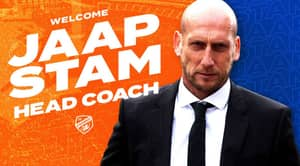 Jaap Stam's New Club Announce His Appointment By Shockingly Posting Wrong Photo In Tweet