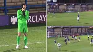 Petr Cech Had An Awful Start For Chelsea Under 23s In Return To Action