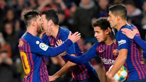 Lionel Messi Wins Penalty Against Sevilla, Gives It To Philippe Coutinho