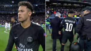 Neymar's 'Childish' Actions Straight After The Full-Time Whistle Has Sparked Controversy