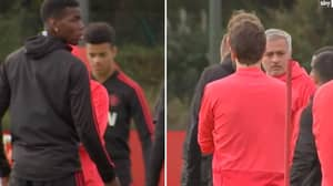 What Paul Pogba And Jose Mourinho's Frosty Exchange Was Over