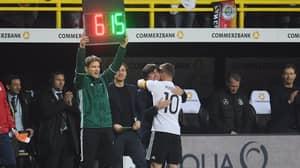WATCH: Lukas Podolski's Brilliant Take On Joachim Low's Bad Touchline Habits