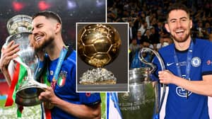 'Jorginho Deserves To Win Ballon d'Or Over Lionel Messi' After Stunning Euro 2020 Tournament