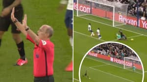 VAR Awards Penalty For Manchester City In Crazy End To First Half