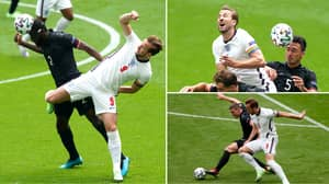 Fans Question Whether Harry Kane Has Touched The Ball In Disappointing First-Half Against Germany