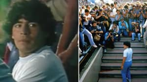 The First Clip Of Diego Maradona's Documentary Proves It Is Essential Viewing