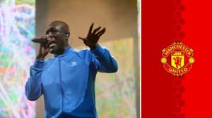Manchester United Fans Were Loving Stormzy's Reaction To Meeting Benjamin Mendy