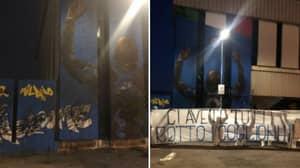 Romelu Lukaku Mural Defaced With Striker Set For Chelsea Move