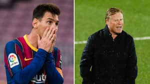 Lionel Messi Could Be Blocked From Playing For Barcelona Until January