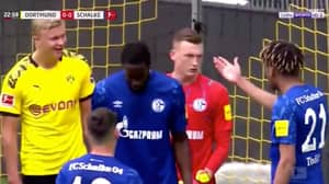 Erling Haaland Told To 'F**k His Grandmother' By Jean-Clair Todibo - Scores Moments Later