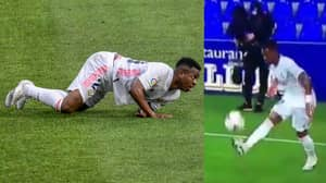 Fans Confused How Vinicius Plays For Real Madrid After Latest Blunder