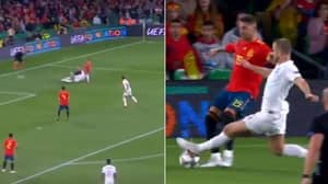 Eric Dier Takes A 25-Yard Run Up To Absolutely Clatter Sergio Ramos