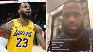 LeBron James Reveals Who His Five Favourite Footballers In The World Are Right Now