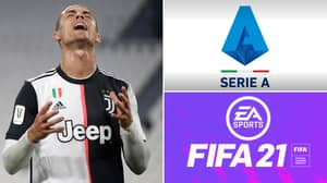 Another Serie A Team Will Be Missing From FIFA 21 Alongside Juventus
