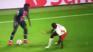 Moise Kean Broke Dayot Upamecano's Ankles So Badly He Fell Out Of Shot