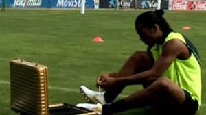 14 Years Ago Today, Nike Released Ronaldinho's Internet-Breaking Crossbar Challenge Video