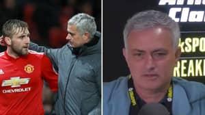 Jose Mourinho Responds To Luke Shaw's Claim Over Their 'Mixed Relationship'