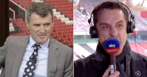 Roy Keane Winds Up Gary Neville Over His European Super League Stance