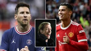 Peter Crouch Says He May Have To Switch From Messi To Ronaldo After Man United Return