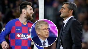 Arsene Wenger Savages Barcelona In Brutal Analysis After Slavia Prague Draw