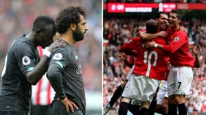 Fans Vote Former Manchester United Trio A Better Strike Force Than Liverpool Three