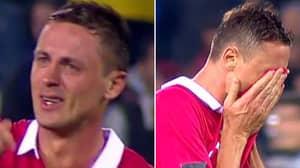 Nemanja Matic Breaks Down In Tears After Serbia Secure World Cup Spot