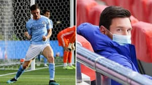 Manchester City Fans Think Aymeric Laporte Answer Drops Lionel Messi Hint