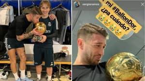 """Sergio Ramos Deserves To Win The Ballon d'Or"" Says Luis Figo"
