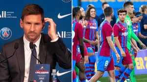 Barcelona Dressing Room's Angry Reaction To Lionel Messi's PSG Move Revealed