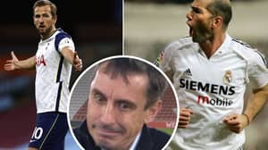 Gary Neville Compares Harry Kane To Zinedine Zidane As He Shines In 2-0 Win Over Manchester City