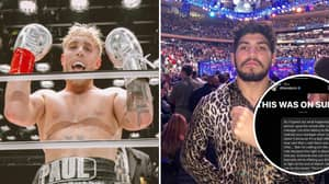 Jake Paul Shares $500,000 Offer He Sent To Dillon Danis Over March Fight