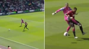 Ederson's Challenge On Callum Wilson Has Left Fans Wondering Where VAR Was