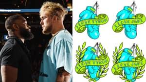Tattoo Artist Reveals Designs For Jake Paul Vs Tyron Woodley Loser